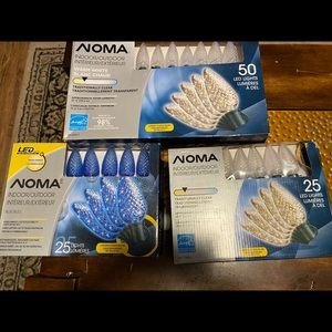 SET**NOMA INDOOR OUTDOOR LIGHTS